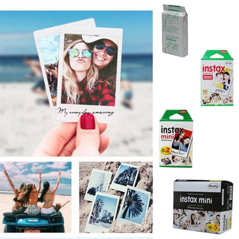 10/ 20/ 50 PCS Fuji Instax Mini 8 9 50 70 90 Sofortiger weißer Film für Fujifilm 9