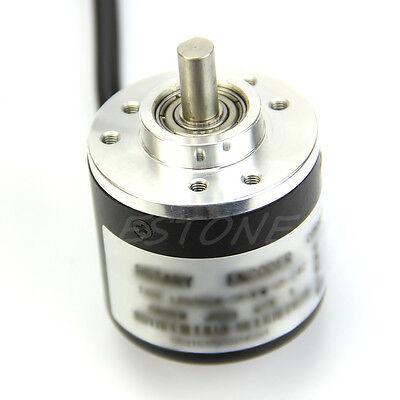 New 360P/R Incremental Rotary Encoder AB phase encoder 6mm Shaft W coupling 4