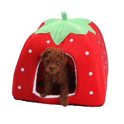 Soft Pet Dog Cat Bed House Kennel Doggy Puppy Warm Cushion Basket Pad Mat S-XL 7