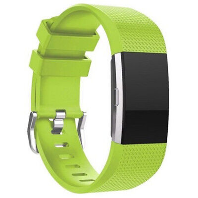 FOR Fitbit CHARGE 2/HR Replacement Silicone Rubber Band Strap Wristband Bracelet 9