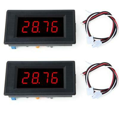 1PC 5135A DC5V High Accuracy DC Voltmeter 3 1/2 Digital Panel Meter with Red LED 3