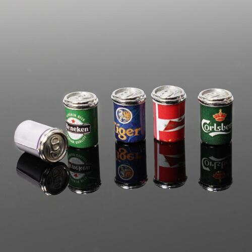 1:12Puppenhaus Miniatur 5X Mini Verschiedene Bierdosen Essen/&Trinken Bar Bi A6Z5