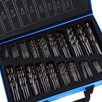 170-tlg HSS Spiralbohrer Bohrerset Metallbohrer Holzbohrer Eisenbohrer 1mm-10mm 5