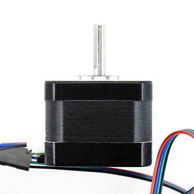 NEMA 17 Stepper Motor 12V 0.4A for CNC Reprap 3D Printer Extruder 36oz-in 26Ncm 2