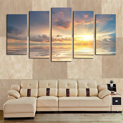 Large Modern Art Oil Paintings Canvas Print Unframed Pictures Home Wall Decor 3