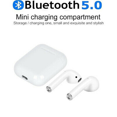 i12 TWS Bluetooth 5.0 Earbuds Wireless Headphones Earphones For iphone Android 5