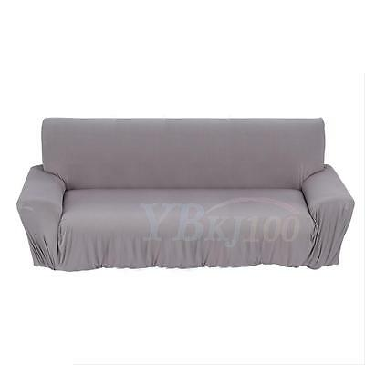 1-3 Seater Stretch Loveseat Sofa Couch Protect Cover Slipcover Washable Elastic 12
