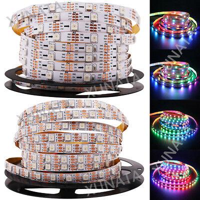 1m 5m 5V WS2812B 5050 RGB 30/60LEDs/M LED Strip ws2812 IC Individual Addressable 3