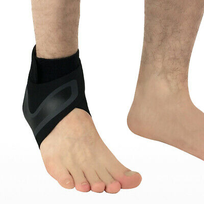 Elastic Ankle Foot Support Brace Sleeve Guard Football Basketball Protector Film 6
