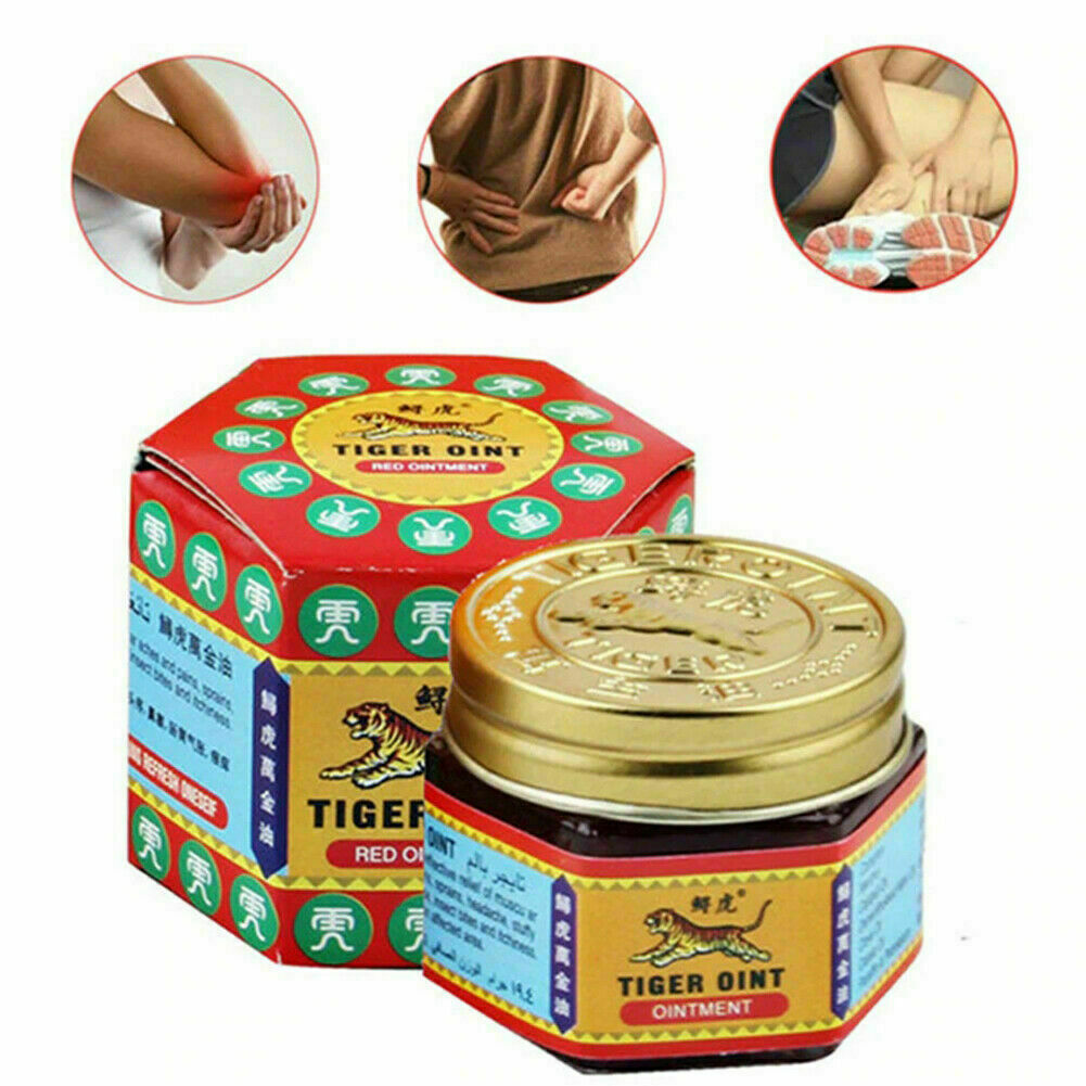 30g Originic TIGER Red Balm Thai Herb Massage Ointment Relief Muscle Ache Pain D 2