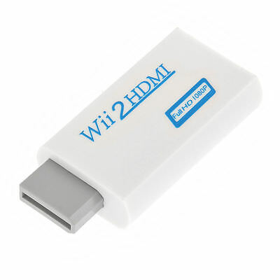 720p 1080p Full HD TV Nintendo Wii auf HDMI Adapter Konverter Stick Upskaler 5