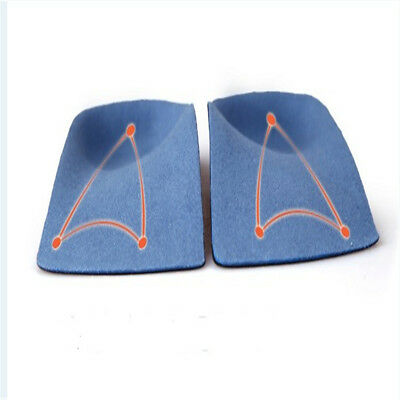 3D Orthotic Flats Feet Foot High Arch Gel Heel Support Shoe Inserts Insoles Pads 2