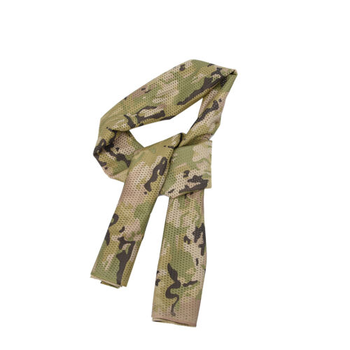Tactical Camouflage Army Sniper Head Neck Scarf Wrap Bandana Face Veil Mask NEW