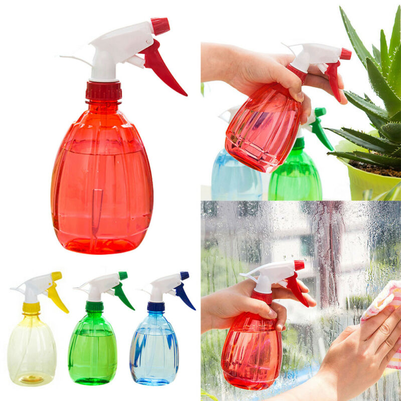 500ml Water Spray Bottle Plastic Gardening Plant Pet Cleaning Random Color 1PC 6