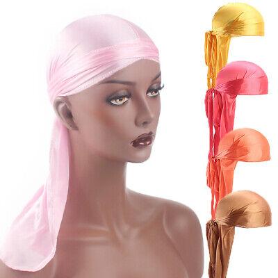 Unisex Headwrap Men Women Bandana Turban Cap Durag do doo du rag Long Tail Hat # 2
