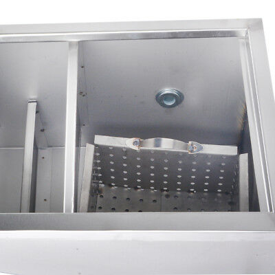 Stainless Steel Grease Trap Interceptor for Restaurant Kitchen Wastewater 9