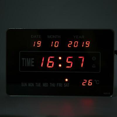 Calendrier électronique multifonctionnel avec horloge numérique et affichage 8