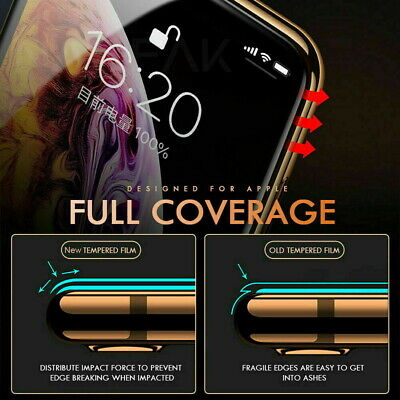 Screen Protector for New iPhone 11,11 PRO MAX Curved Full Cover Tempered Glass 6