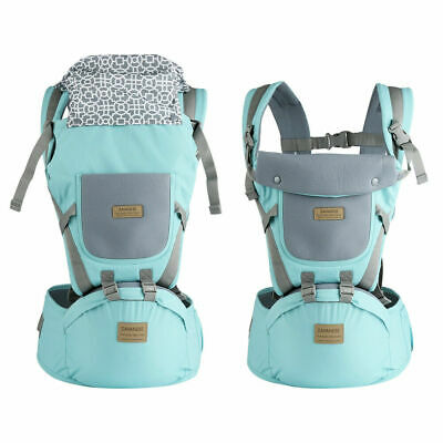 Ergonomic Infant Baby Carrier With Hip Seat Stool Adjustable Wrap Sling Backpack 8