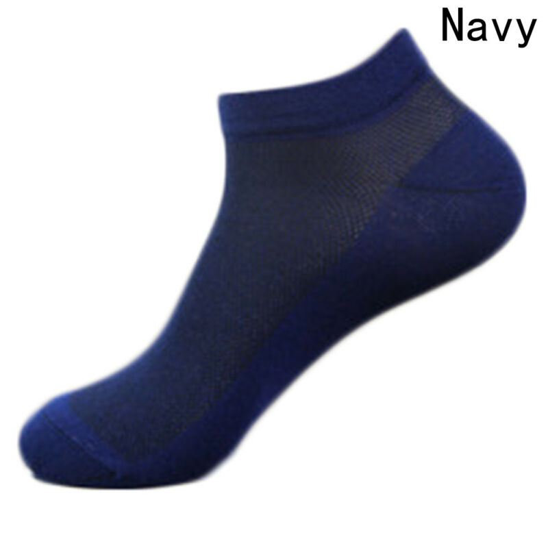 Trainer Liner Ankle Socks Mens Womens Cotton Rich Sport Black White pairs Seja 8