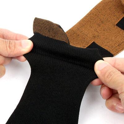 (3 Pairs) Copper Infused Compression Socks 20-30mmHg Graduated Mens Womens S-XXL 10