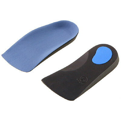 3D Orthotic Flats Feet Foot High Arch Gel Heel Support Shoe Inserts Insoles Pads 4