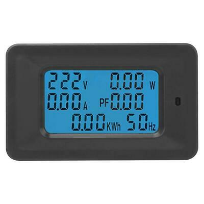 6 in 1 Digital AC Meter Voltage 110V-250V Current 20A Power Factor KWH Frequency 7