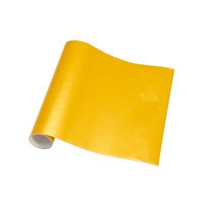 Auroral Metallic Gloss Yellow Vinyl Car Wrap Air Free Bubble Wrap Films Sticker 10