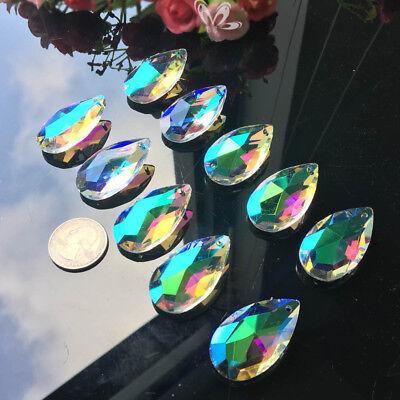 10Pc Magic Rainbow Angel CRYSTAL Lamp Prism Chandelier Pendant Decor SUNCATCHER 5