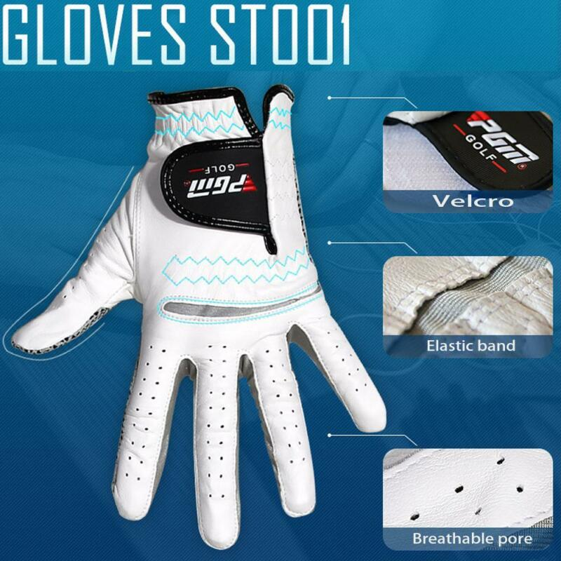 New Breathable 2018 Stratus Sport Leather White Golf Gloves Pick Size 7