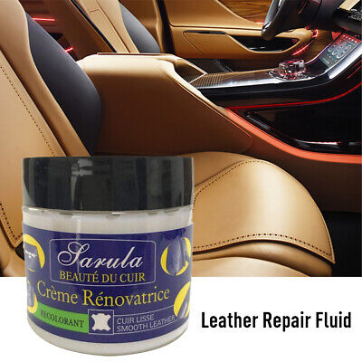 50Ml Eidechse Leather Recolouring Balm Cream Restorer Sofa Chairs 10 Colours A+ 7