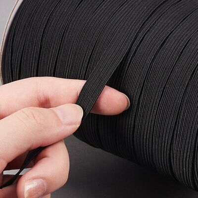 Round Flat Elastic Bungee Rope Shock String Stretchable Cord Dress Making Craft 6