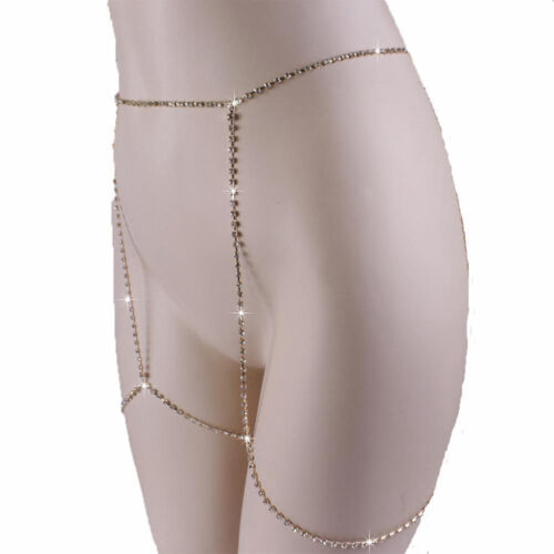 Charm Thigh Leg Rhinestones Chain Harness Body Jewelry Summer Fashion Garter 1PC