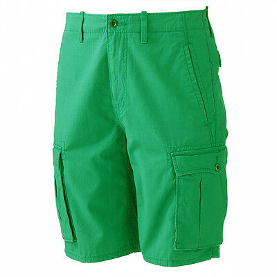 36f62d5c ... New Levi's Men's Ace Ripstop Cargo Shorts Green Relaxed Fit MSRP $50 2