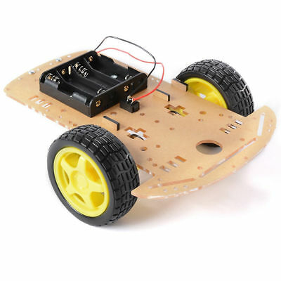 2WD Robot Smart Car Chassis DIY Kits Intelligent Engine Arduino Raspberry Pi 5