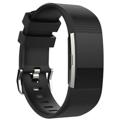 FOR Fitbit CHARGE 2/HR Replacement Silicone Rubber Band Strap Wristband Bracelet 8