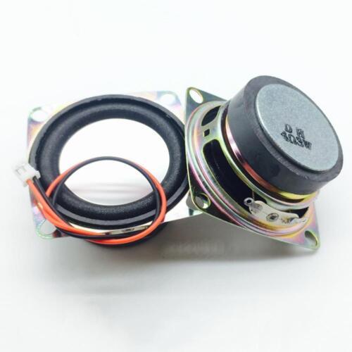 2 of 12 2Pcs 52mm 2 inch 4Ohm 3W Range Audio Speaker Stereo Woofer Loudspeaker Hot&L
