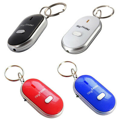 Whistle Lost Key Finder Flashing Beeping Locator Remote chain LED Sonic torch. 5