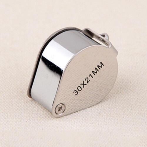 30x Juwelier Schmuck Vergrößerungs glas Reparatur Uhrmacher Lupe* ._DED D6J3 5