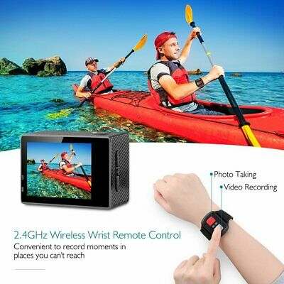Ultra 4K Full HD 1080P Waterproof Sports Camera Wi-Fi Action Camcorder as Go Pro 5