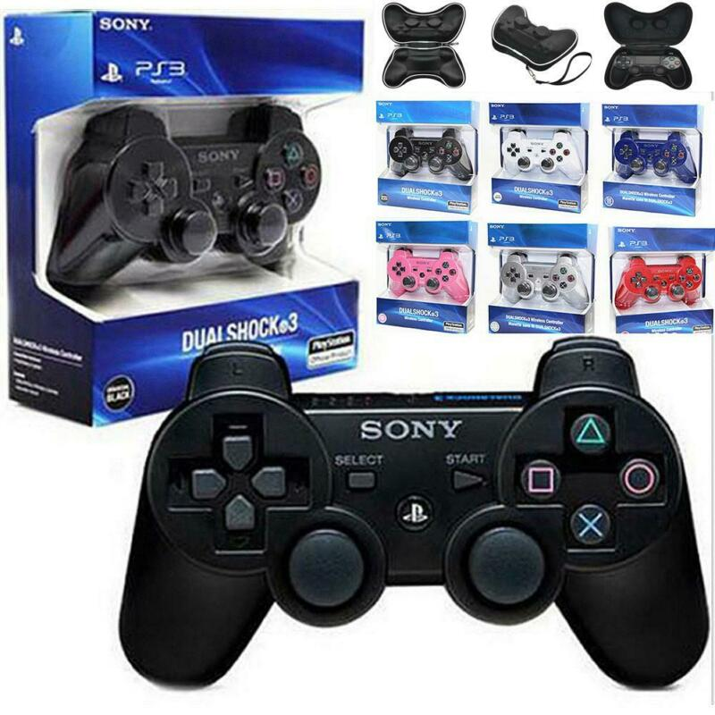 For PC Gamepad Wireless Bluetooth Remote Dual Shock Controller Gamepad Joystick 2