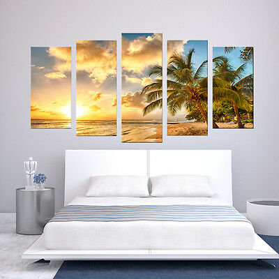 Large Modern Art Oil Paintings Canvas Print Unframed Pictures Home Wall Decor 4
