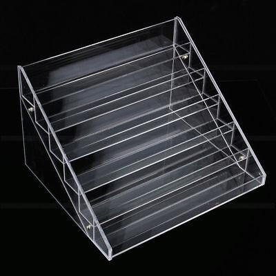 6 Layers Acrylic Nail Polish Rack Stand Holder Cosmetics Display  Organizer 9