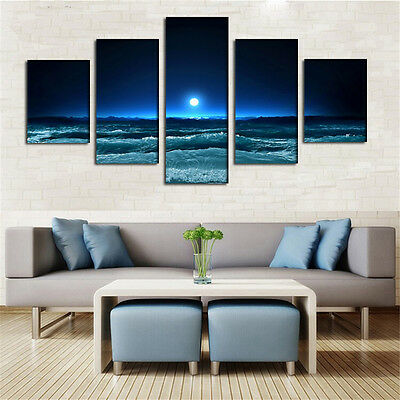 Large Modern Art Oil Paintings Canvas Print Unframed Pictures Home Wall Decor 6