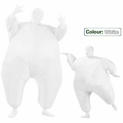 Inflatable Fancy Chub Fat Masked Suit Dress - Blow Up Christmas Party Costume 8