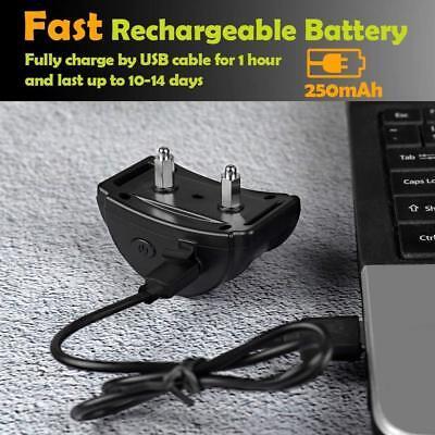 Rechargeble LCD Automatic Anti Bark No Barking Tone Shock Dog Training Collar 9