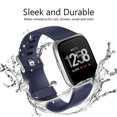 Fitbit Versa/Lite/Versa 2 Replacement Band Wristband Silicone Sports Watch Strap 4