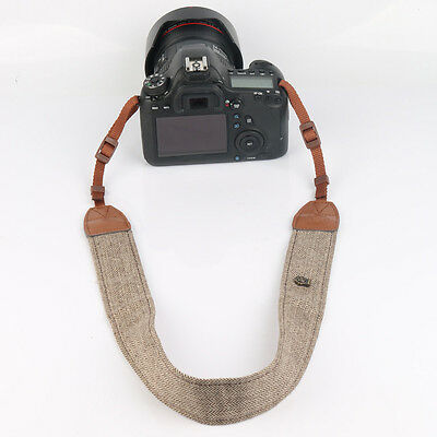 Camera Shoulder Neck Vintage Strap Belt for Sony Nikon Canon Olympus DSLR Pentax 5