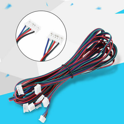 5X PH2.0-XH2.54 Female-Female Connector Cable for Nema16 Nema17 Stepper Motor 1m 11