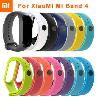 For XIAOMI MI Band 4 /MI Band 3 Silicon Wrist Strap WristBand Bracelet FR RR 2
